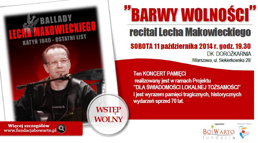 winieta KONCERTU Lecha Makowieckiego